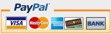 Pay with PayPal VISA or IBAN bank payment