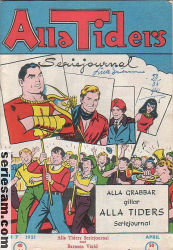 ALLA TIDERS SERIEJOURNAL 1951 nr 7 omslag