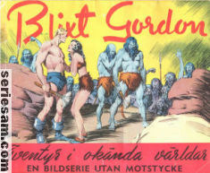 BLIXT GORDON 1941 omslag