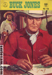 BUCK JONES 1961 nr 10 omslag