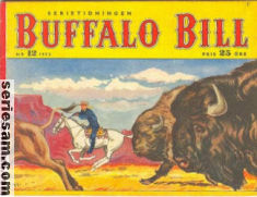 BUFFALO BILL 1952 nr 12 omslag
