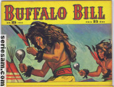 BUFFALO BILL 1953 nr 25 omslag