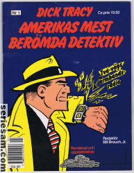 Dick Tracy 1991 nr 1 omslag serier