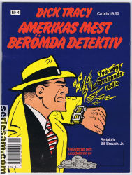 Dick Tracy 1991 nr 4 omslag serier