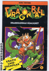 Dragon Ball pocket 2000 nr 1 omslag serier
