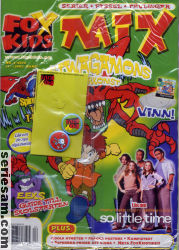 Fox Kids mix 2002 nr 4 omslag serier