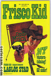 FRISCO KID 1972 nr 1 omslag