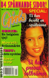 Girls Comics 1995 nr 3 omslag serier