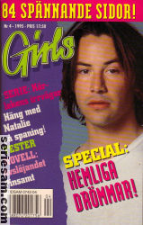 Girls Comics 1995 nr 4 omslag serier