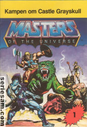 Masters of the Universe 1982 nr 1 omslag serier