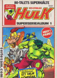 HULK SUPERSERIEALBUM 1979 nr 1 omslag