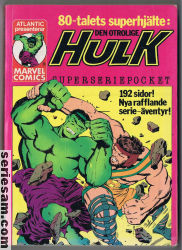 Hulk superseriepocket 1979 nr 1 omslag serier