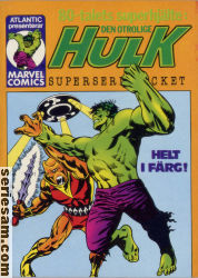 Hulk superseriepocket 1979 nr 2 omslag serier