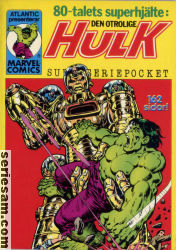 Hulk superseriepocket 1980 nr 3 omslag serier