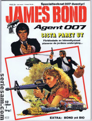 JAMES BOND AGENT 007 1986 omslag