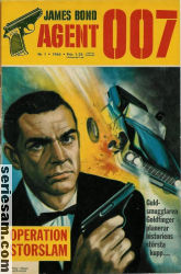 James Bond 1965 nr 1 omslag serier