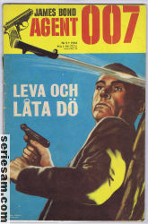 James Bond 1965 nr 2 omslag serier