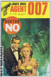 James Bond 1965 nr 4 omslag serier