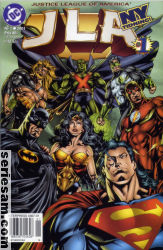 Justice League of America 2001 nr 1 omslag serier