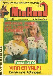 MIN HUND 1974 nr 1 omslag
