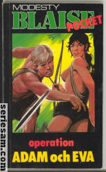 MODESTY BLAISE POCKET 1990 omslag
