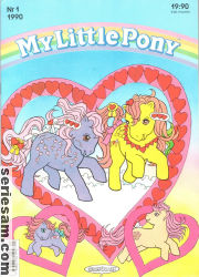 MY LITTLE PONY 1990 nr 1 omslag
