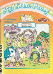 My Little Pony julalbum 1988 omslag serier