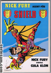 NICK FURY AGENT FÖR SHIELD 1979 nr 1 omslag