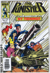 The Punisher 1990 nr 1 omslag serier