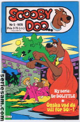 SCOOBY DOO 1978 nr 5 omslag