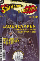 Super-Team 1992 nr 4 omslag serier