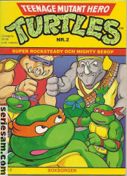 Teenage Mutant Hero Turtles Bokborgen 1991 nr 2 omslag serier