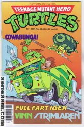 Teenage Mutant Hero Turtles 1991 nr 1 omslag serier