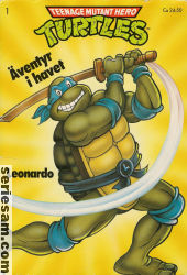 Teenage Mutant Hero Turtles album 1990 nr 1 omslag serier