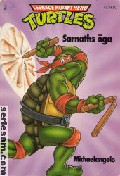 Teenage Mutant Hero Turtles album 1990 nr 2 omslag serier