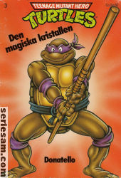 Teenage Mutant Hero Turtles album 1990 nr 3 omslag serier