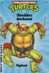 Teenage Mutant Hero Turtles album 1990 nr 4 omslag serier